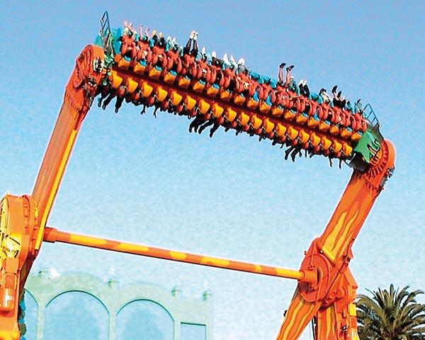 airground Top Spin Rides Manufacturer