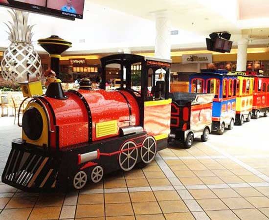 Trackless Train for Mall